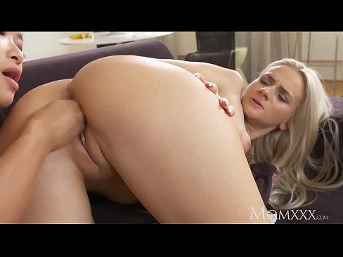 Blonde tight panties pussy