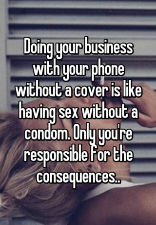 Doing sex without having it