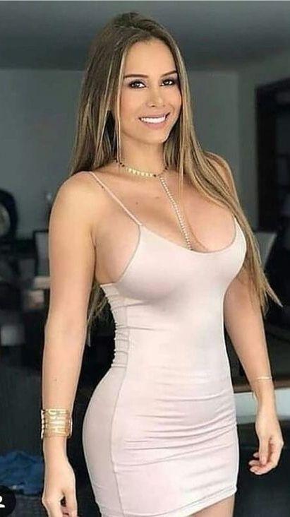 Big ass dress blonde milf