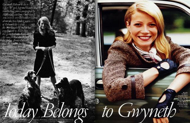 Gwyneth paltrow vanity fair
