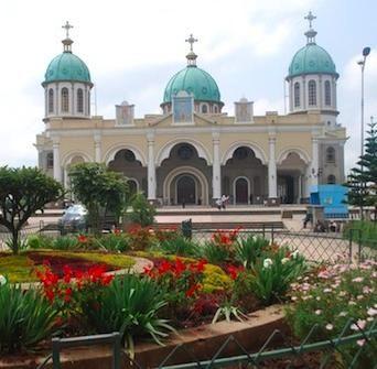 Bole addis ababa ethiopia church