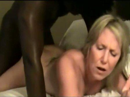 Blonde fucked by blacks
