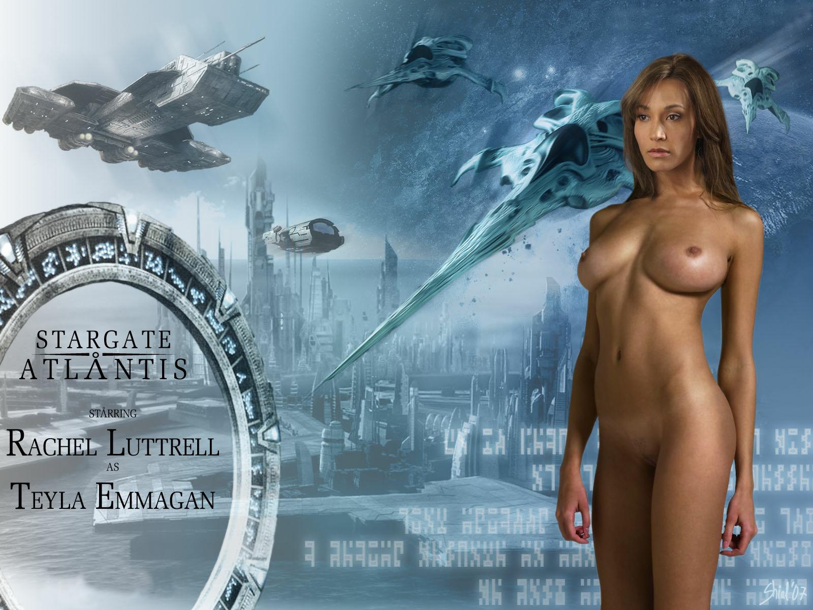 Nude women from stargate atlantis porn