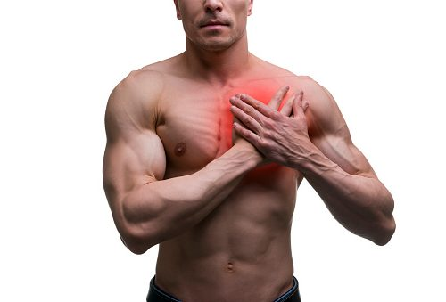 Symptoms pulled breast muscle