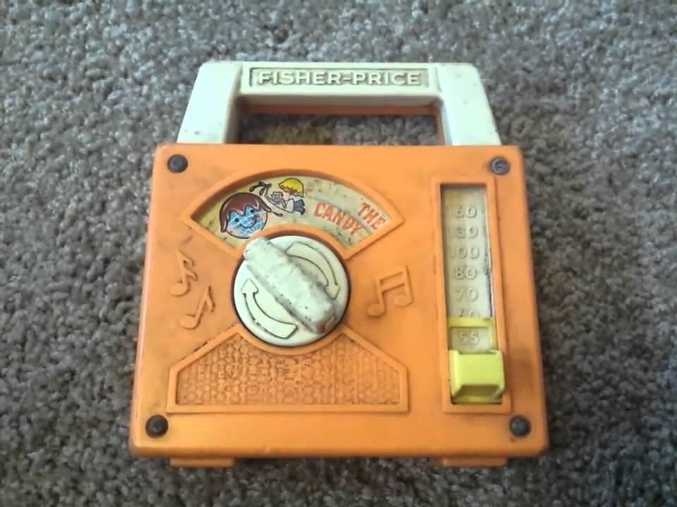 Vintage fisher price music box