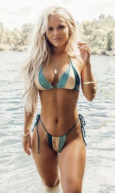 Hot milf bikini beach