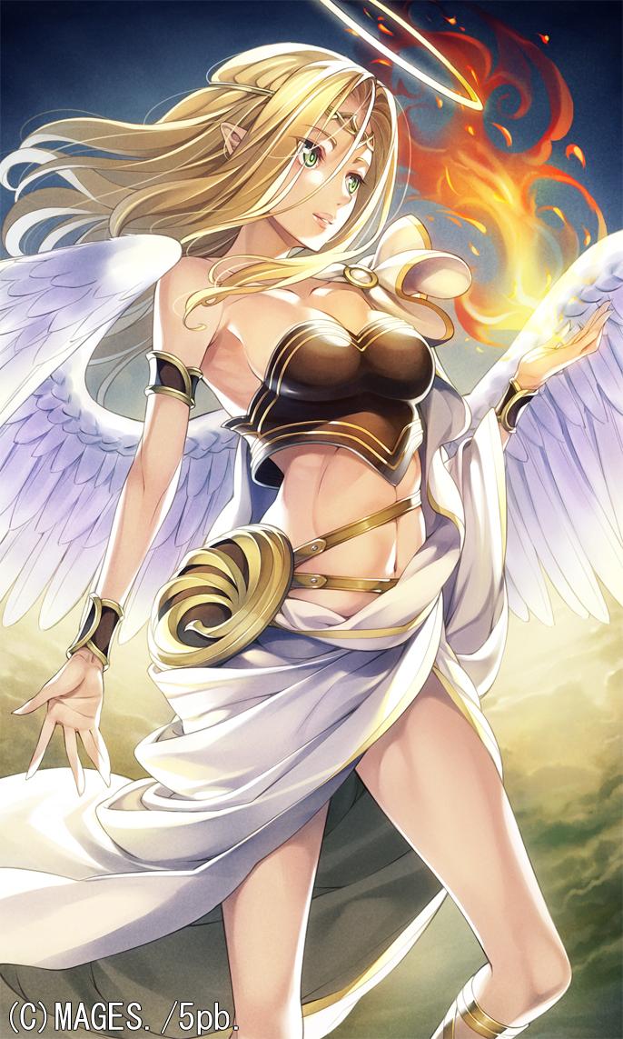 Sexy anime angel girls naked