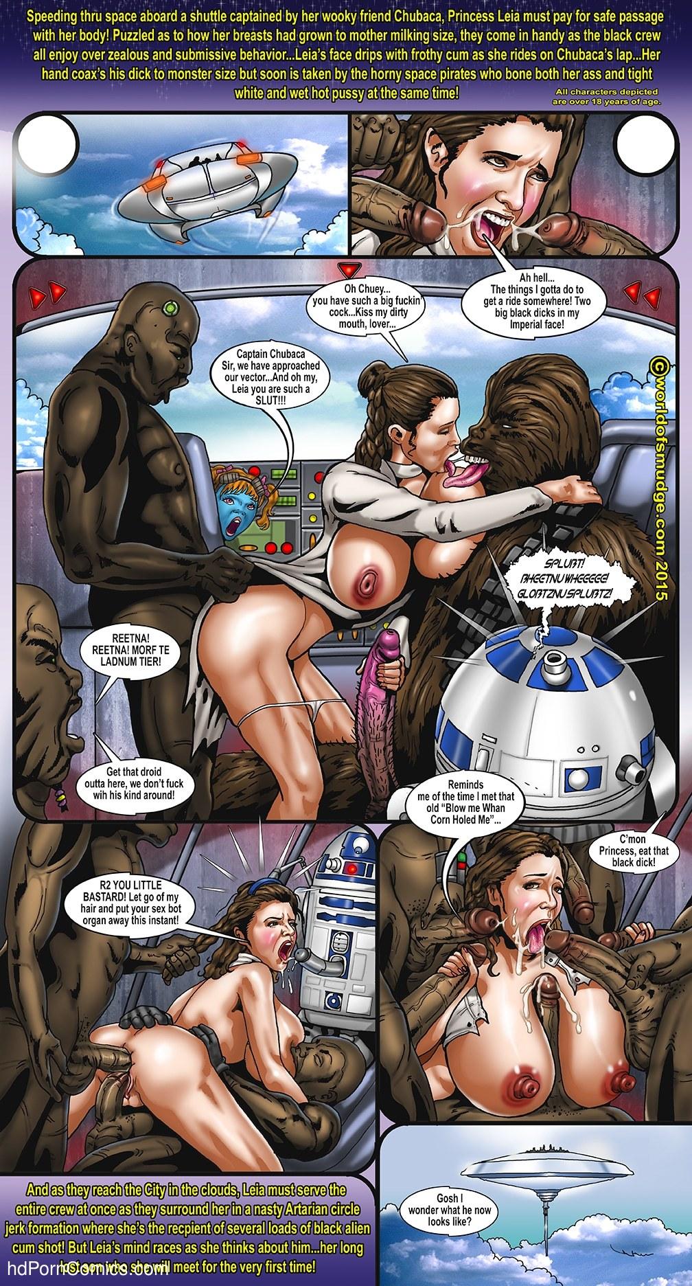 Star wars nude comic