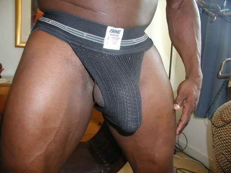 Long black dick underwear