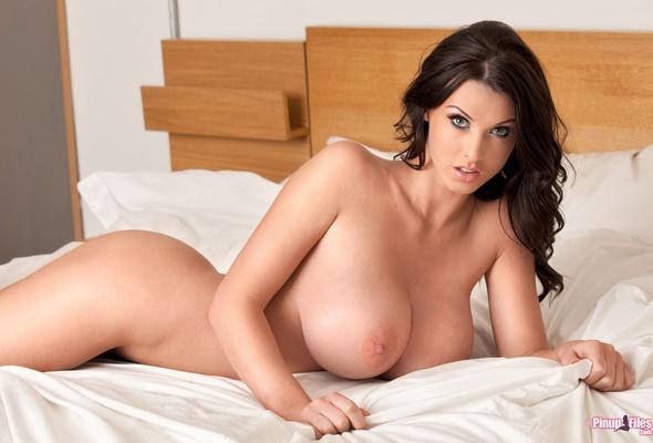 Beautiful big tits model