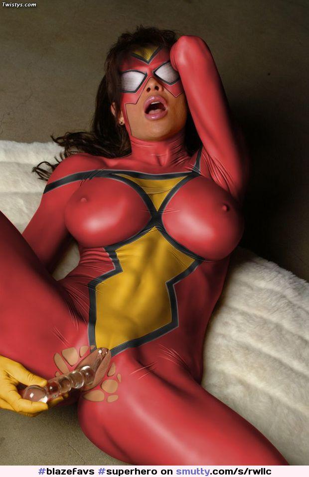 Sexy superhero women naked