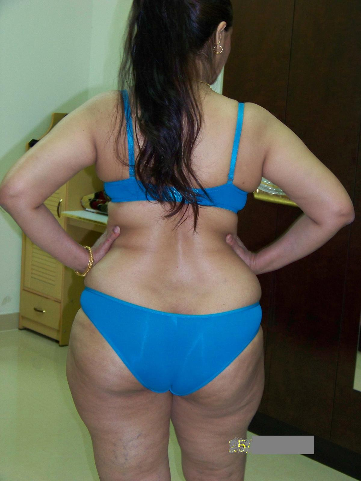 Indian big ass panties