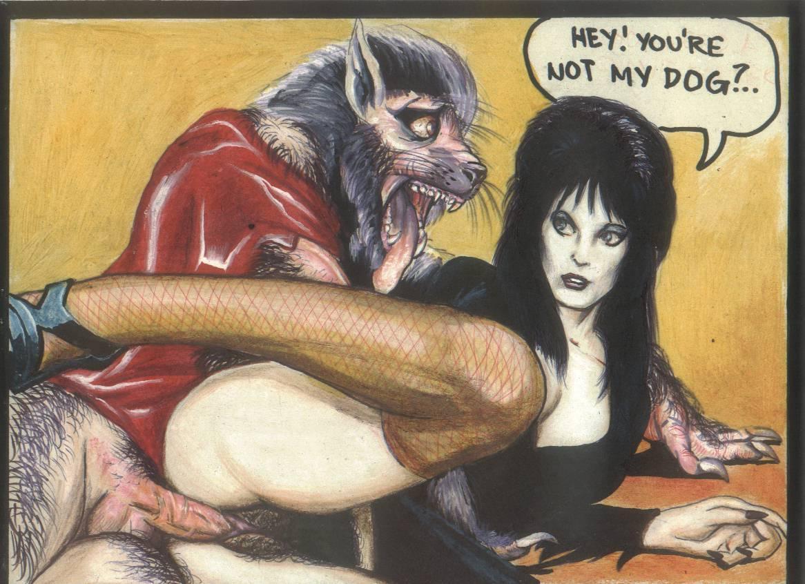 Drawings of the dark elvira mistress porn