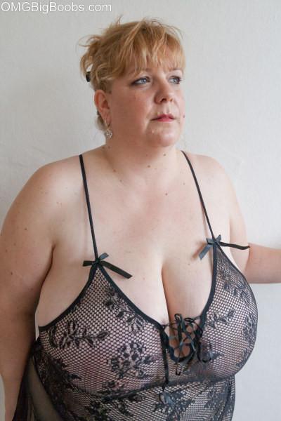Big huge mature boobs
