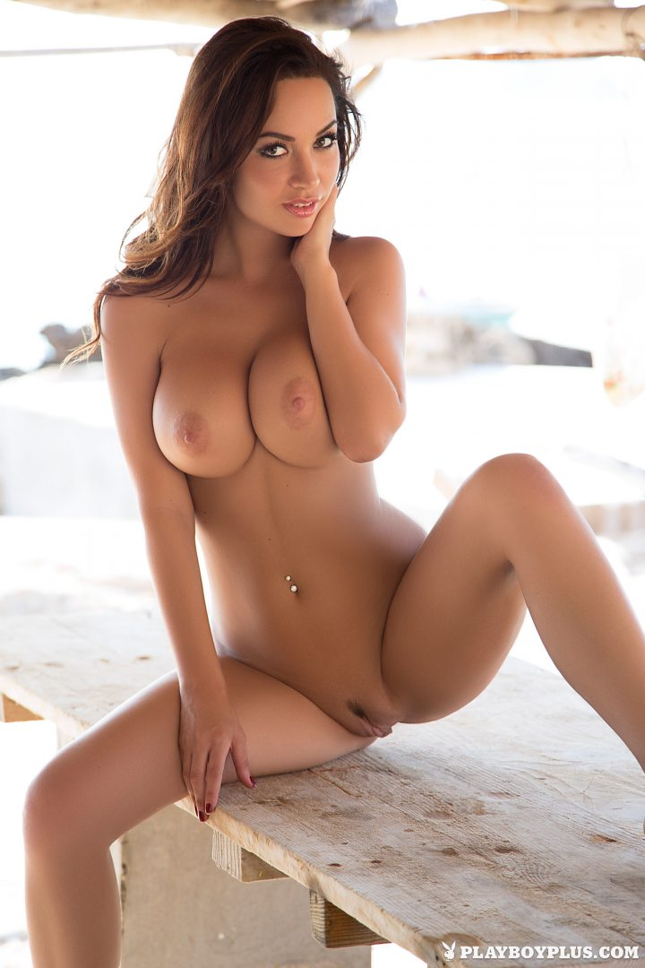 Hot tits girl playboy