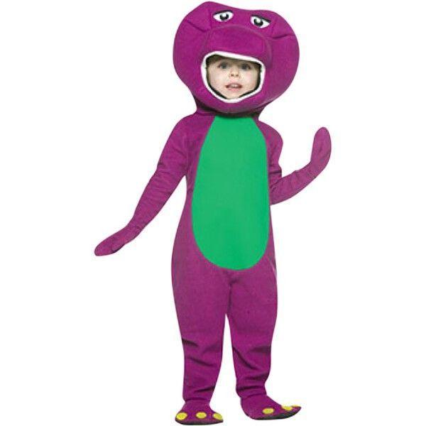 Adult barney costume dinosaur purple