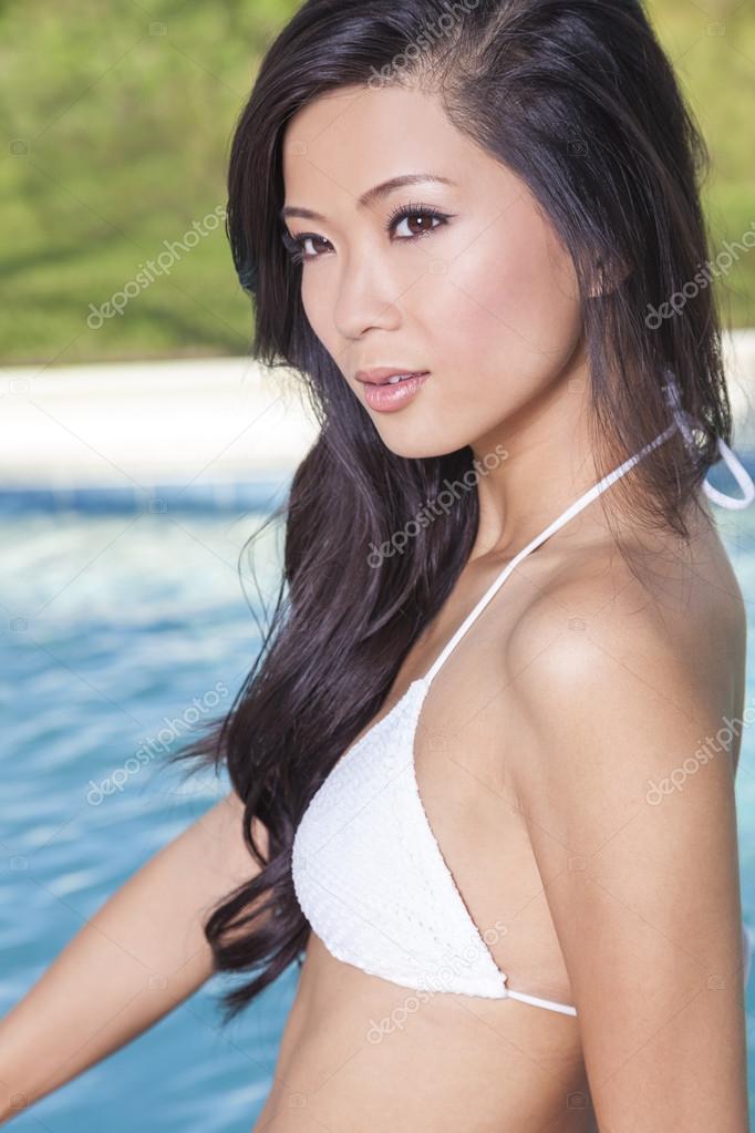 Asian swim suit models