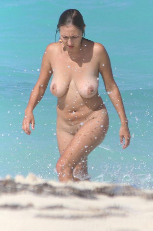 Busty milfs nude beach
