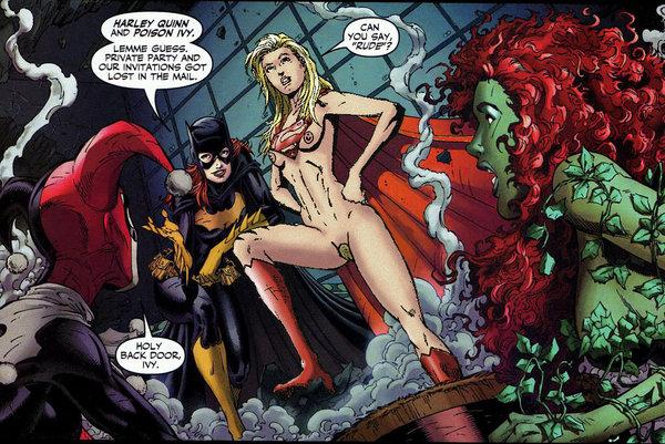 Batgirl sex poison ivy