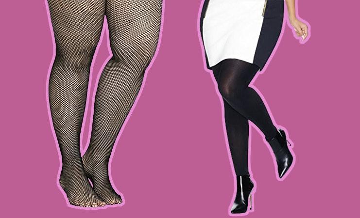 Do you wear shiny pantyhose