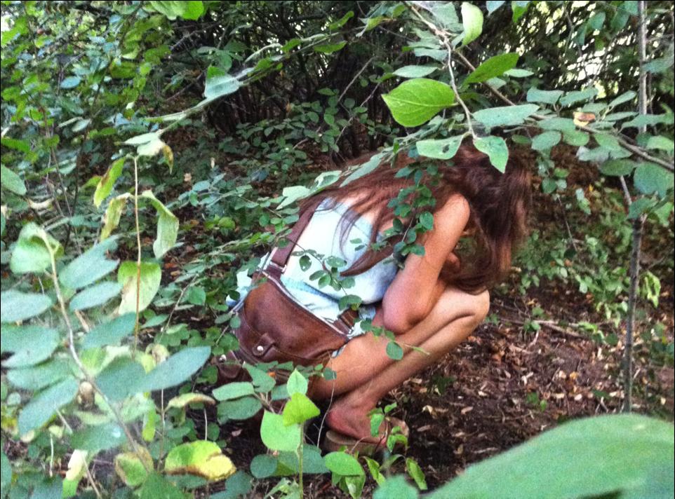 Girls peeing outside tumblr
