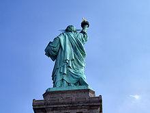 Statue of liberty tits