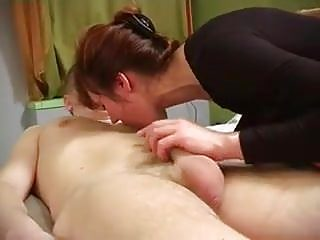 Russian milf mom pov