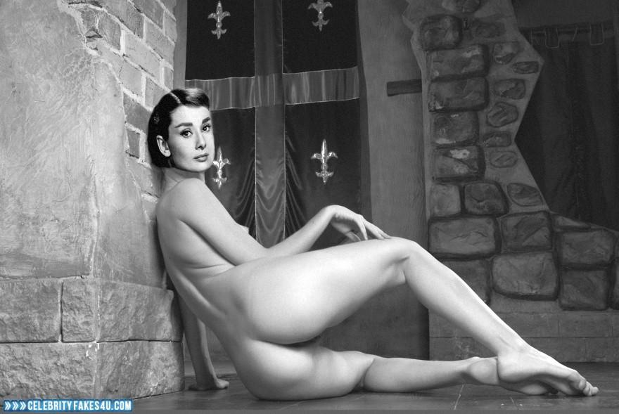 Audrey hepburn nude fake
