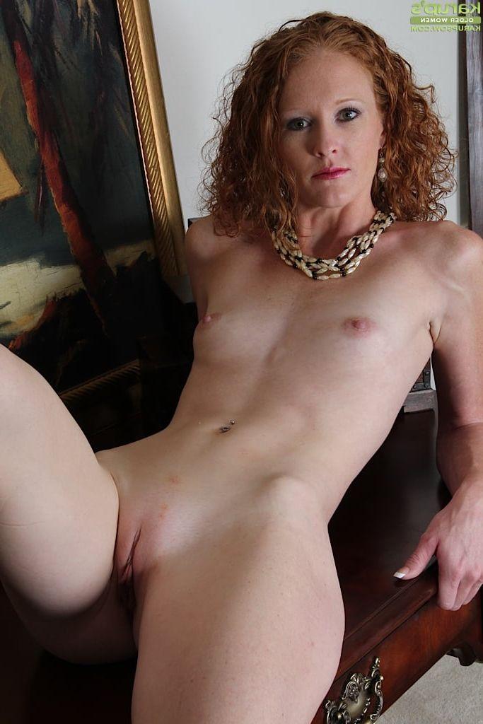 Mature older redhead women nude