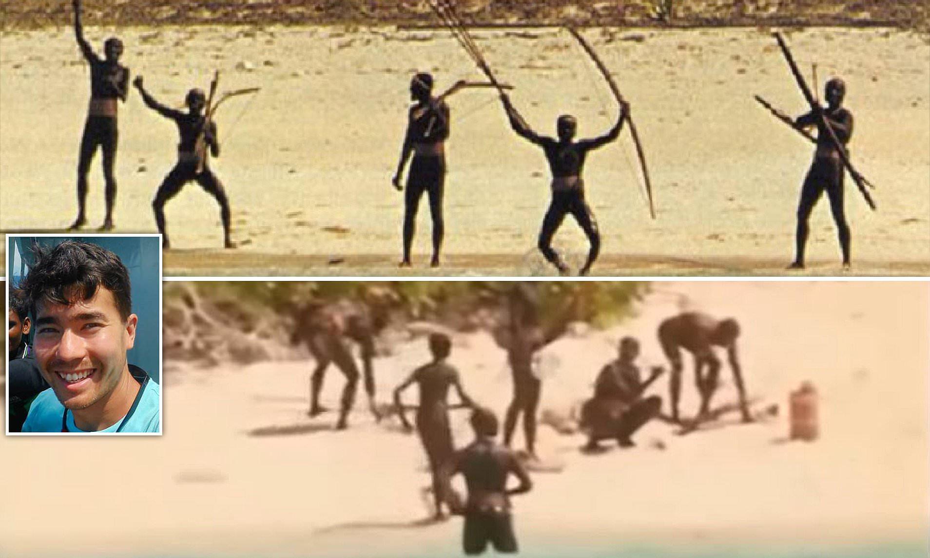 Nude native women on the island