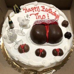Happy birthday pussy cake