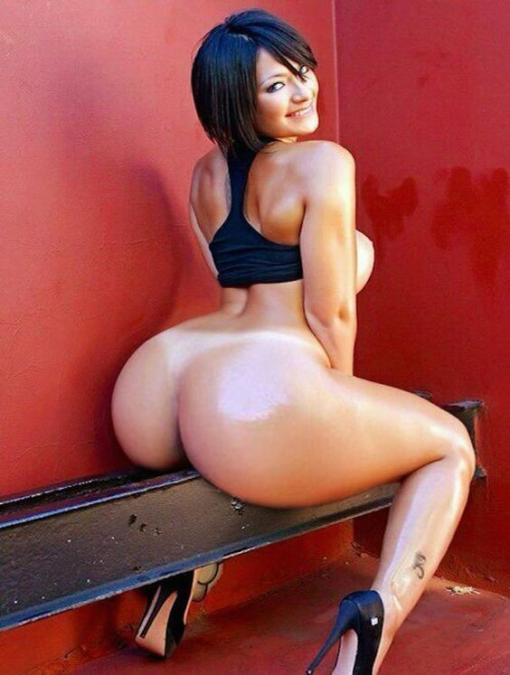 Naked and sexy big ass