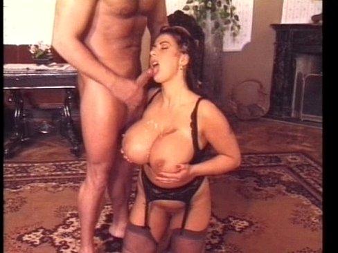 Big tits retro pornstar