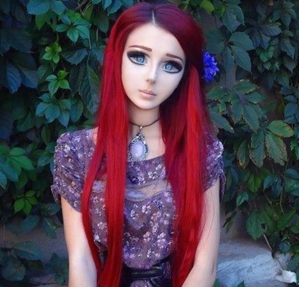 Real life anime girl makeup
