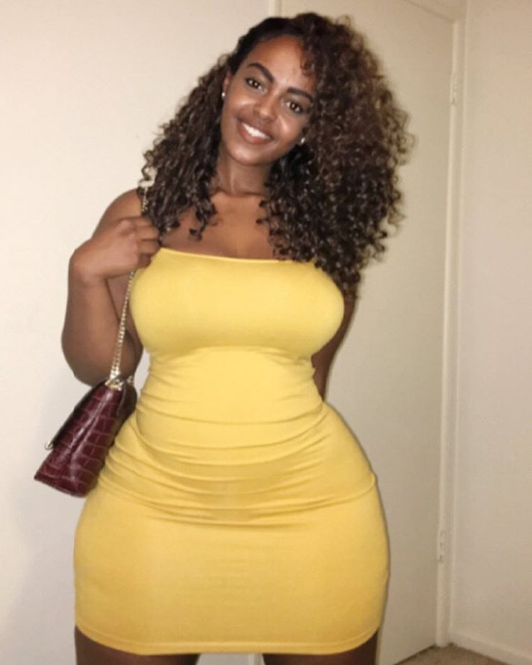 Ethiopian sexy round big booty