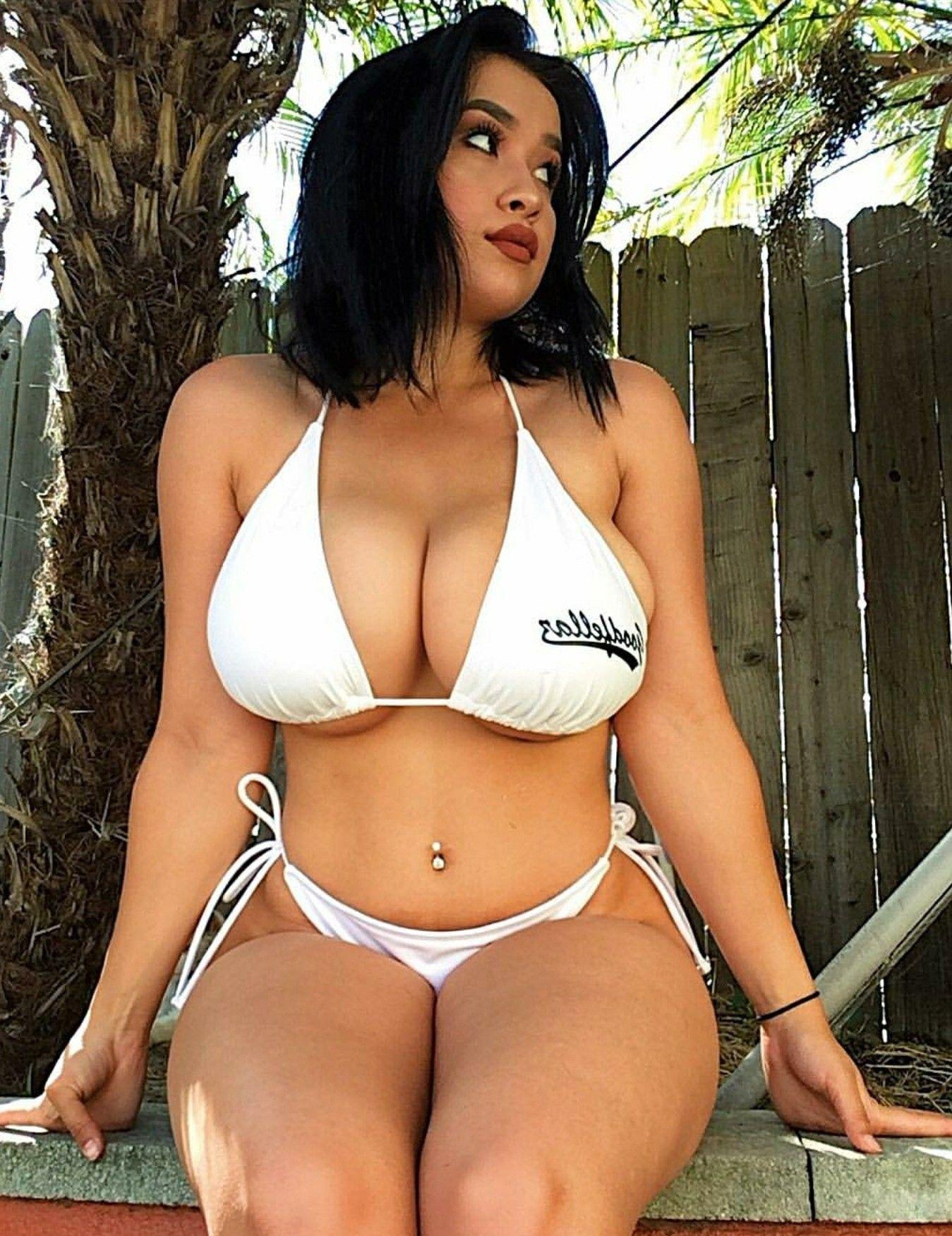 Thick latina bikini pics
