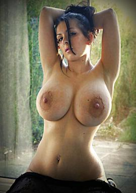 Big boobs pointy nipples