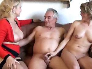 Older more mature threesomes