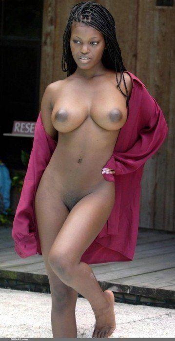 Beautiful black pussy and big tits