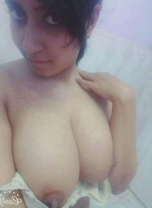 Big tits indian girl nude selfie