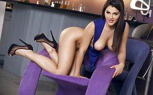 Latina curvy girl naked