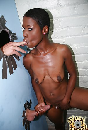 Saggy boobs black girl