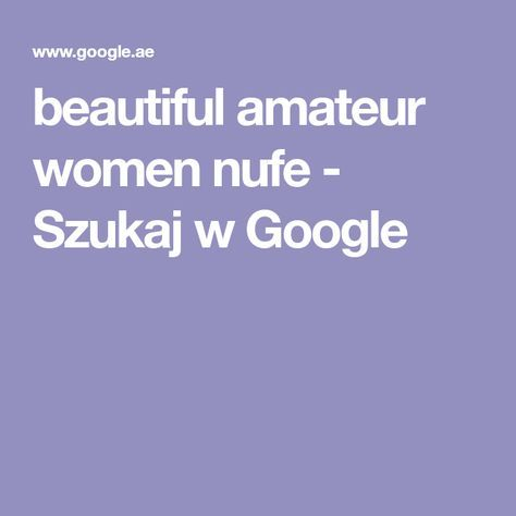 Beautiful amateur women nufe