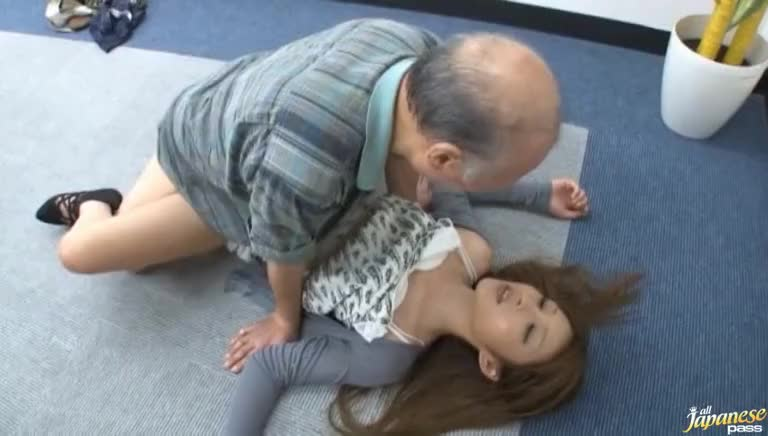Asian girls fucking old men
