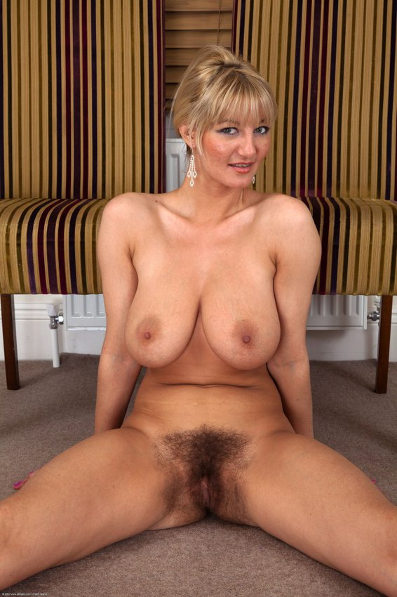 Nude busty hairy mature