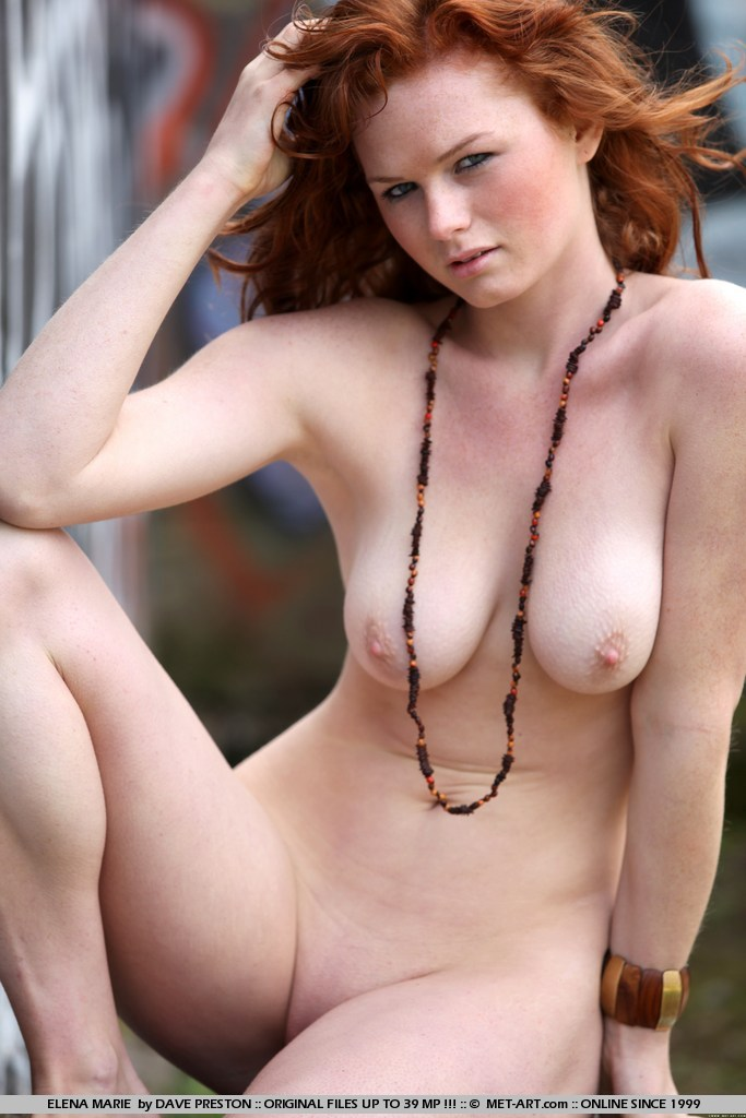 Naked girls with freckles fair skin