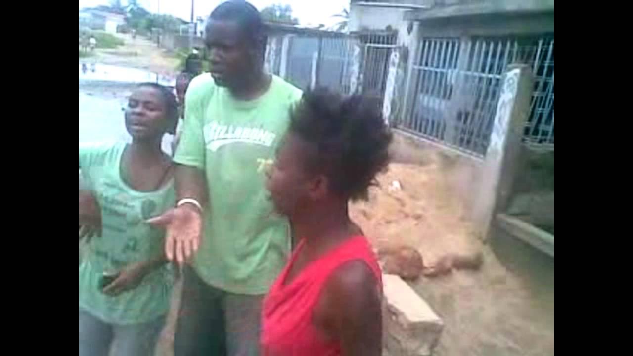 Fighting women fight girls