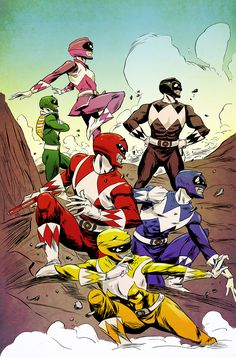 Power rangers cartoon porn