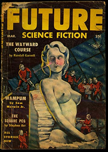 Vintage science fiction nude