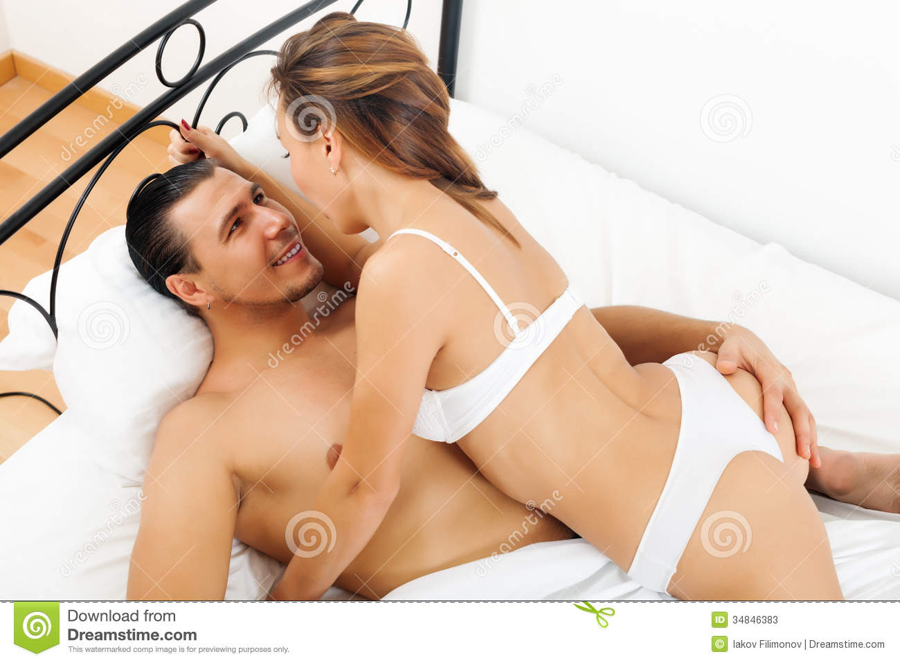 Men and woman who are having sex